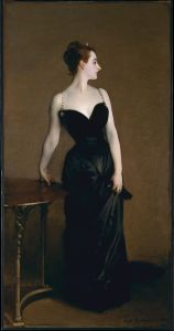 Madame X, by Sargent. Source: Wikimedia Commons