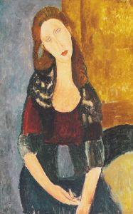 Amedeo_Modigliani_-_Jeanne_Hebuterne,_sitzend