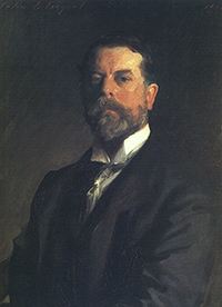 John Singer Sargent self portrait 1905  •  Source: Wikimedia Commons