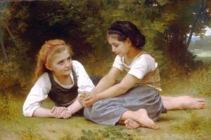 W. A. Bouguereau. The Nut Gatherers. 1882. Source: Wikimedia Commons