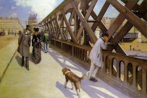 Pont de L'Europe. Gustave Caillebotte. Source: Wikimedia Commons