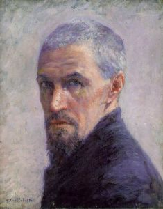 Gustave Caillebotte, self portrait. Source: Wikimedia Commons